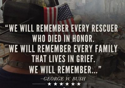 We remember!! September 11